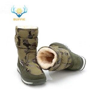 Image 4 - Ayakkabı erkekler kış sıcak botlar kamuflaj snowboot küçük boyutlu büyük ayak popüler yeni tasarım kürk astarı erkek stil ücretsiz kargo 41