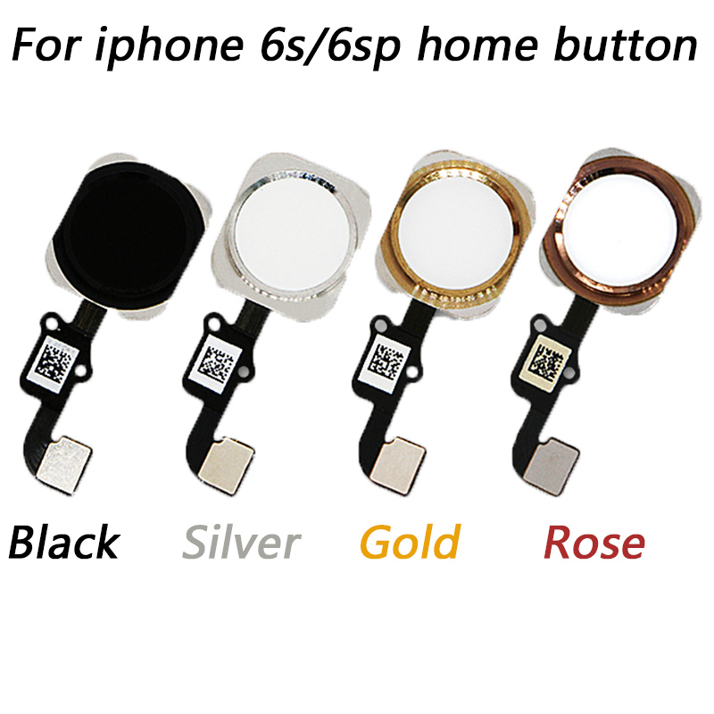 1pcs Home Button Main Key Flex Cable For IPhone 6s 4.7