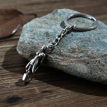 New Love Witness Gift Key Chain Exaggerated Personality Retro Genital Wedding Fun Ring