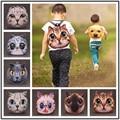 NEW 2016 Children School Bag Cute little Cat/Dog Cartoon Animal Backpack Little Boys/Girls Baby Toddler Kids Small Mini bags