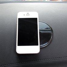 Нескользящий Противоскользящий коврик держатель для телефона коврик для панелей, на липкой основе коврик круглый паук липкий коврик для сотового телефона/электронных устройств