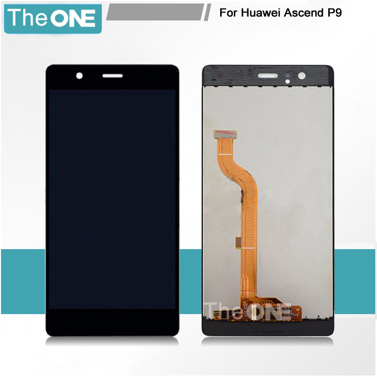 3 Colors LCD+TP for Huawei Ascend P9 LCD Display+ Touch Screen Glass Digitizer Assembly Smartphone Replacement Free Shipping