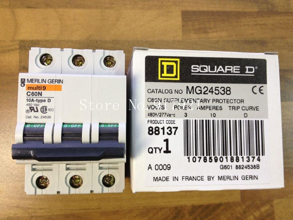 все цены на [ZOB] original Multi9 C60N 10A D original France MG 24538 circuit breaker 3P10A --5pcs/lot онлайн