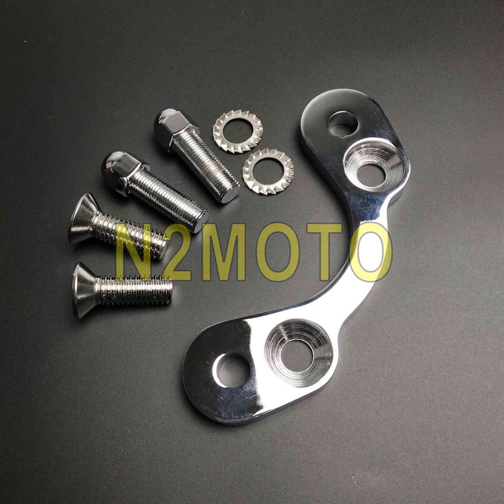 "Hot Chrome 7//8/"" Motocycle Handlebar Risers Bar Clamp Mount 22mm For Harley Honda"