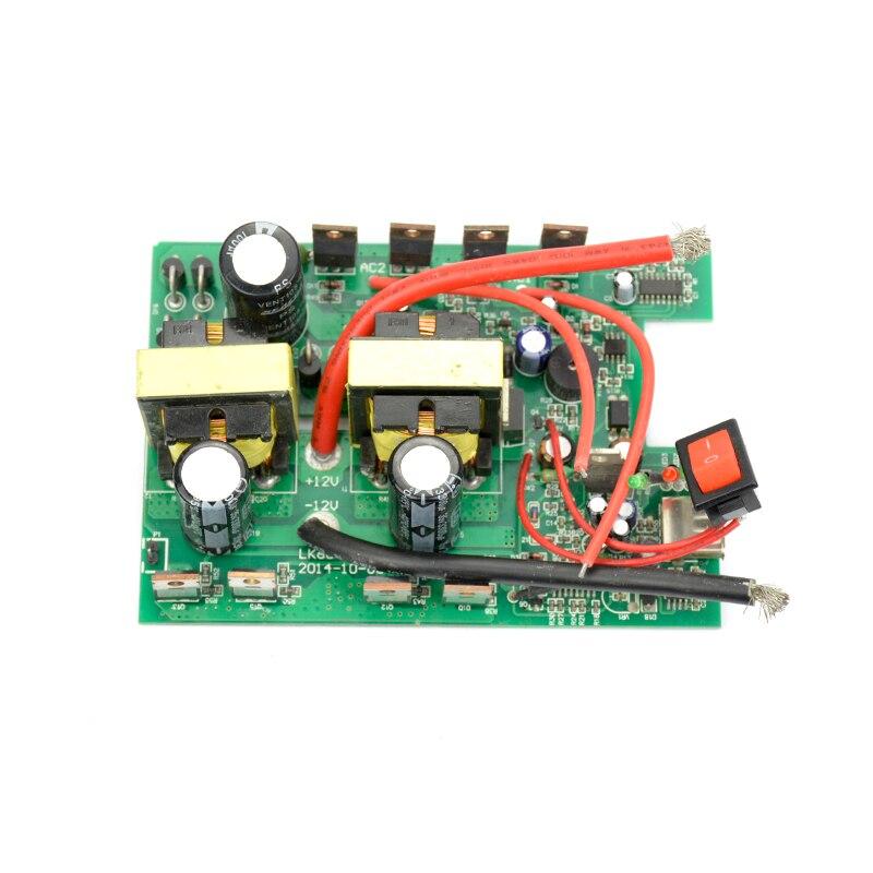 SUNYIMA 1Pc inwerter 12v do 220v 600W -1200W DC-AC płyta konwertera zwiększ moc transformatora