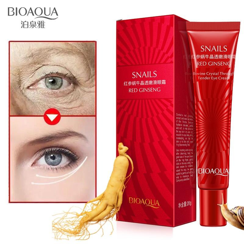 где купить BIOAQUA Anti Wrinkle Anti Aging Eye Cream Ageless Effectively Remove Dark Circles Puffiness Repair Eye Lifting Moisturizer Cream по лучшей цене