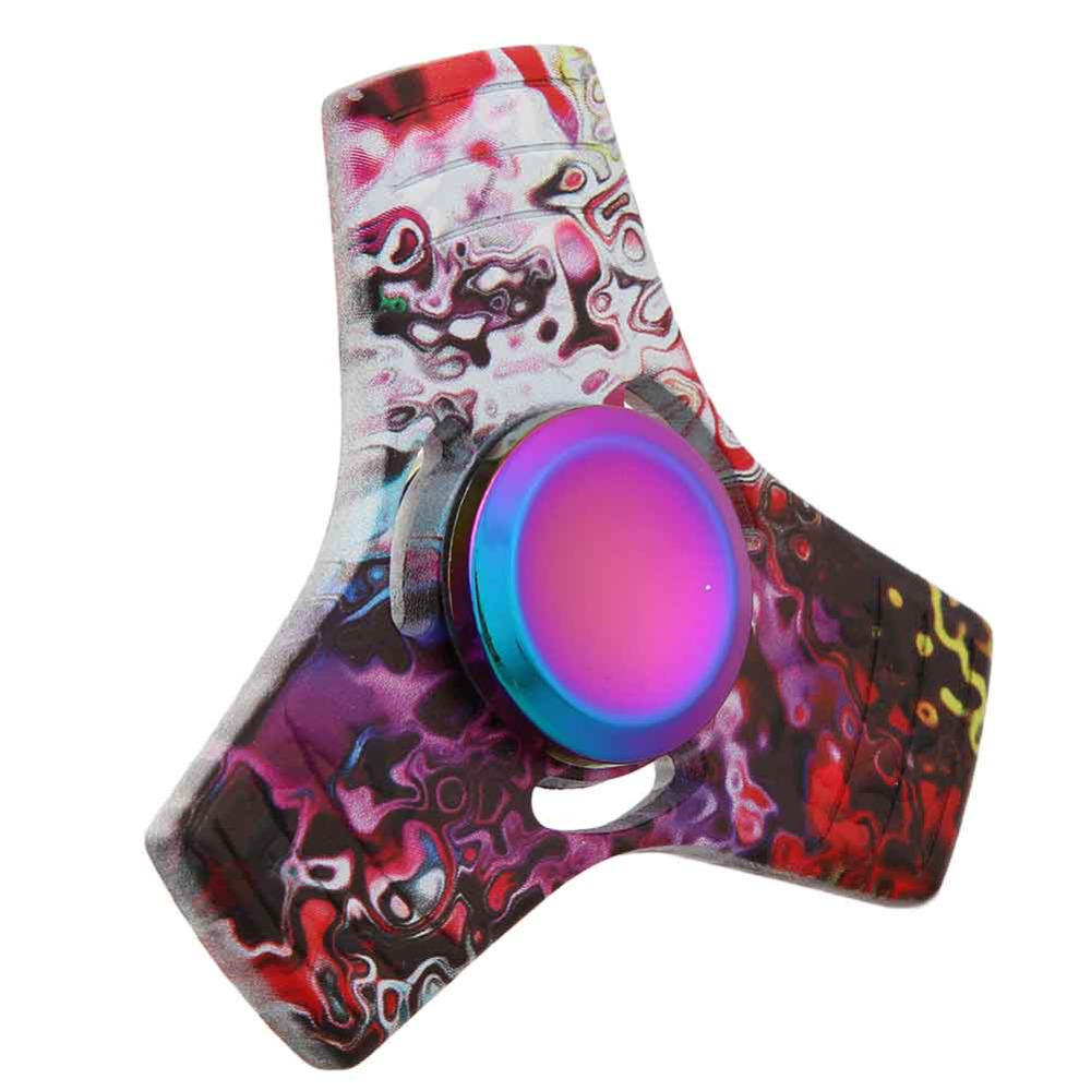 Hot Styles Fidget Spinner Three Corner colorized Finger Spinner For Autism and ADHD Hand Spinner Anti