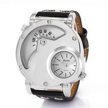 2016 Nuevo Diseño de Lujo del deporte Relojes de Los Hombres de Calidad Superior de la Marca de Oulm Ejército Militar del movimiento de Japón de Pulsera Hombre Relojes hombre