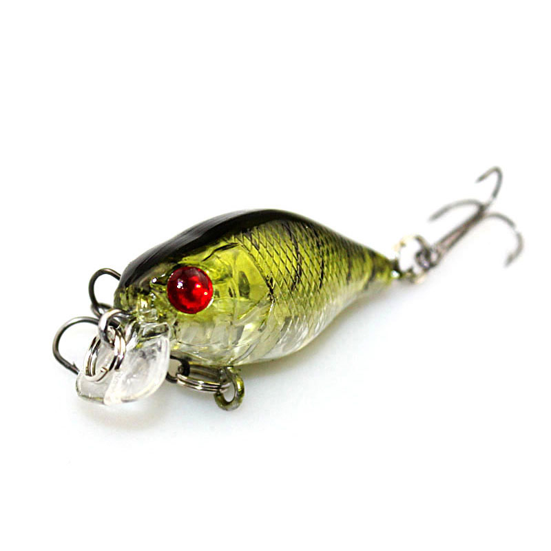 1PCS 4cm 4.2g Mini fishing Lure Crank Iscas Artificiais Pesca Hooks Fish Wobbler Crankbait Topwater japan fishing tackle WQ240