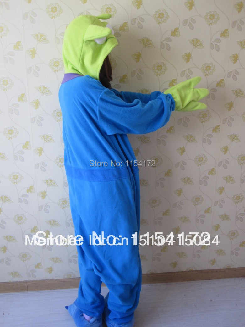 Alien аниме Комбинезоны для взрослых пижамы мультфильм животных Косплей Костюм пижамы комбинезоны для взрослых пижамы Хэллоуин кигуруми