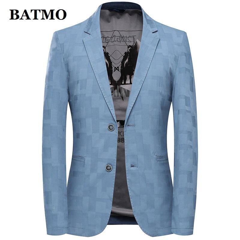 Batmo 2019 New Arrival Summer High Quality Casual Blazer Men,men's Suits Jackets ,casual Jackets Men Plus-size  M-3XL 17017