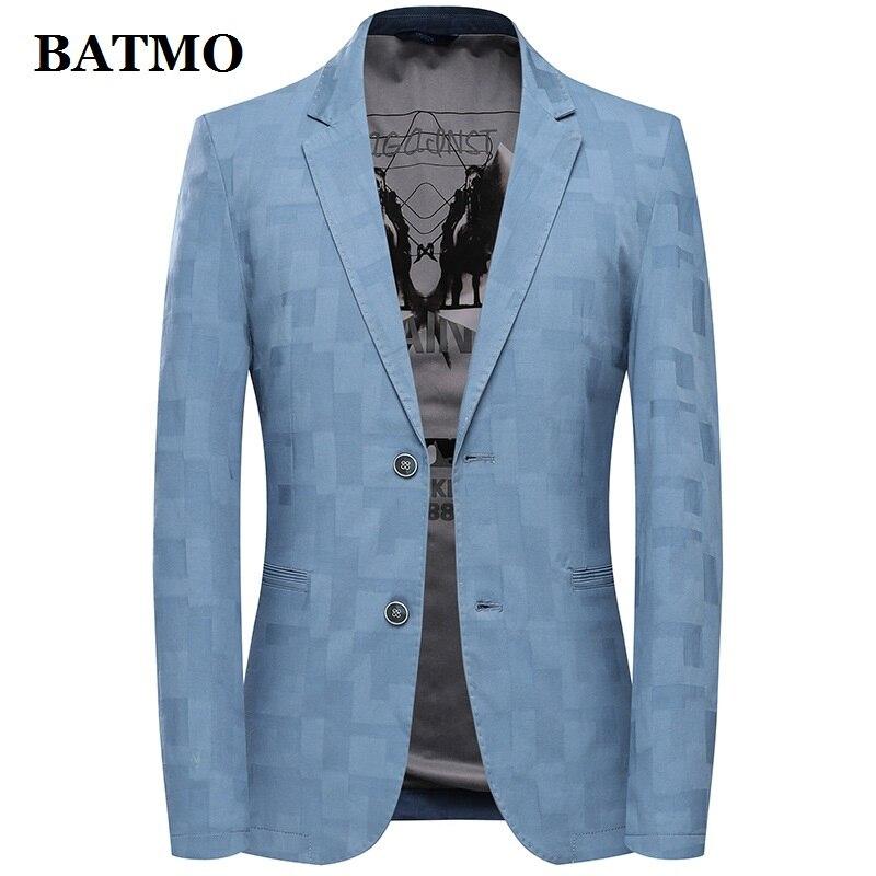 Batmo 2019 nieuwe collectie zomer hoge kwaliteit casual blazer mannen, mannen suits jassen, casual jassen mannen plus size M 3XL 17017-in Blazers van Mannenkleding op  Groep 1
