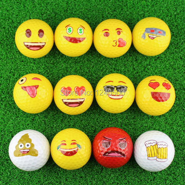 Free Shipping Beautiful Colorful Golf Ball Double Layer Practice Golf  Ball Golf Gift Ball   3pcs/lot Wholesale