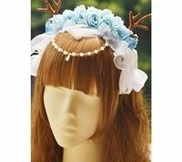 Princess Gothic lolita hairbands 360 degree dead Sasa Ka KC Lolita ring hoop accessories MHTSP036