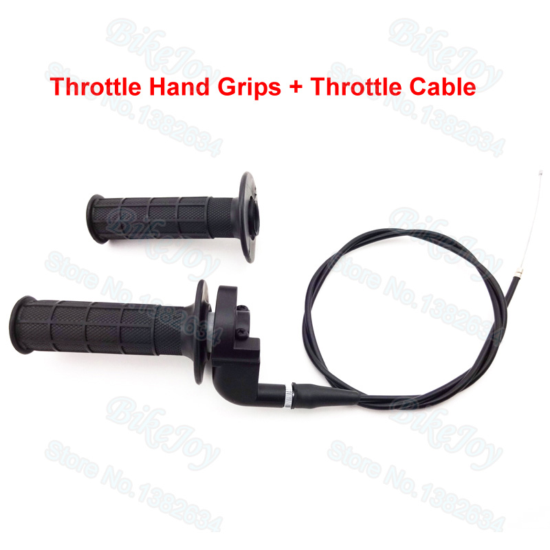 Handle Throttle Grips Throttle Cable For Mini Pit Bike