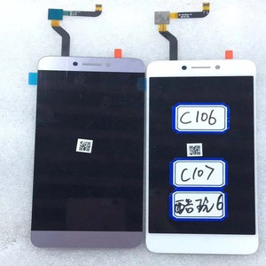 Image 4 - Gray Original For Cool1 Dual C106 R116 C103 c106 8 LCD Display Touch Screen Digitizer Assembly For Letv Le LeEco Coolpad Cool 1c