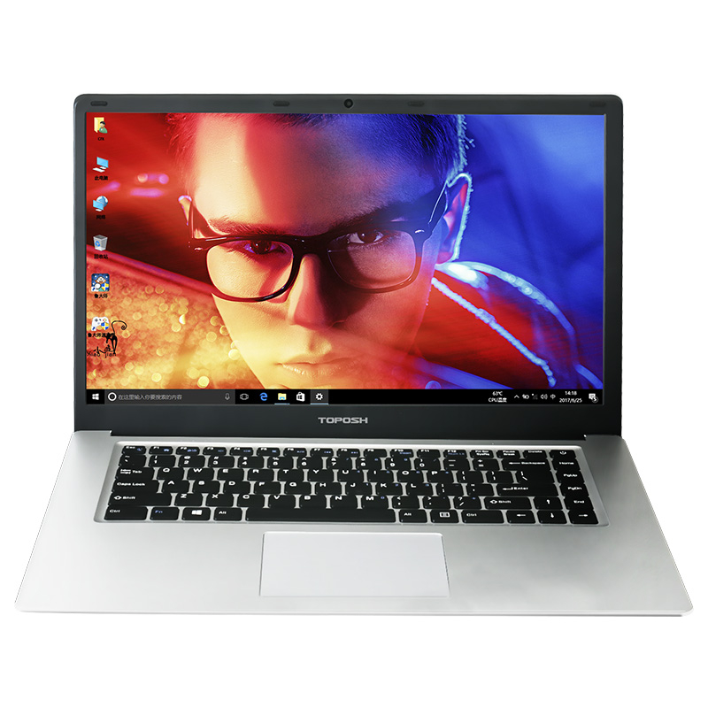 TOPOSH laptop (P2-01) 15.6 inch Intel Z8350 Quad Core 2GBRAM 32GB SSD 1920*1080IPS Windows10 Ultrabook Laptop Notebook Computer