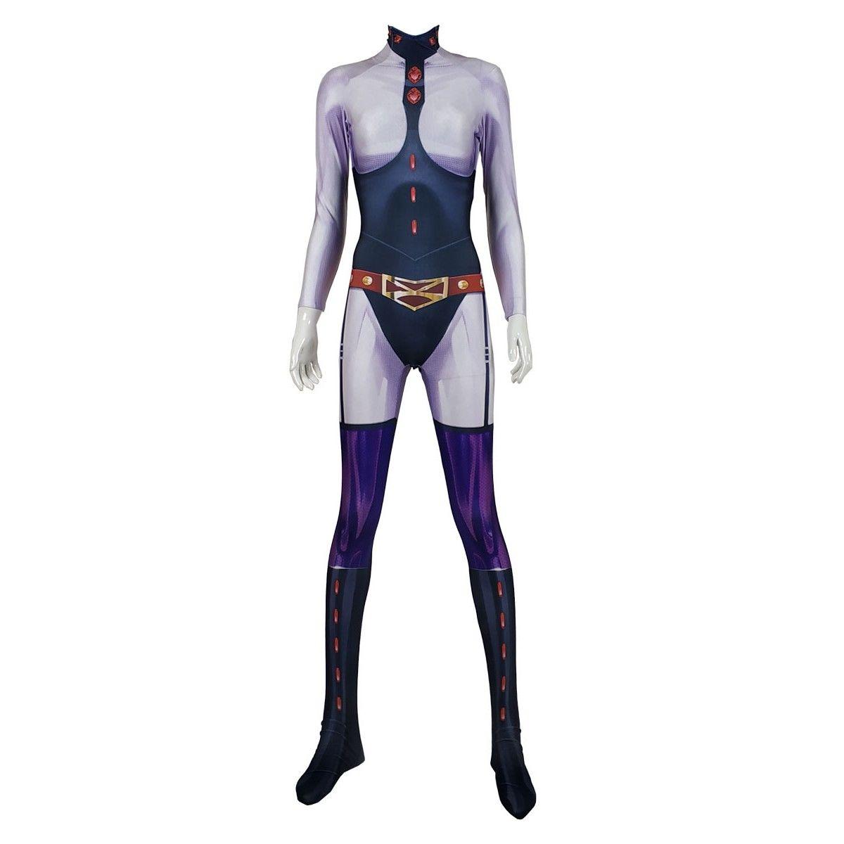 Cosplay Anime My Boku no Hero Academia Midnight  Suit Zentai Jumpsuit Halloween Costume Bodysuit Custom Made