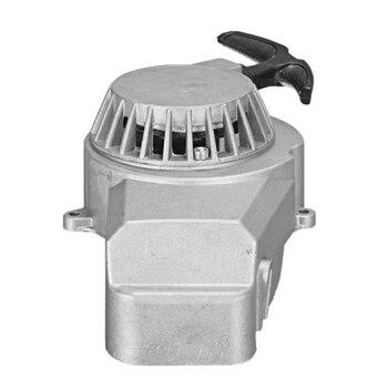 Arranque de tracción de Metal 49cc refrigerado por aire 2 tiempos Mini Moto Dirt Quad Pullstart 49 cc-plata