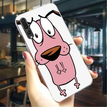 Чехол для телефона huawei P20 provey the Cowardly Dog Cover P9 Lite Mini P10 20 30 Lite Pro P Smart mate 10 20 Lite Pro(China)