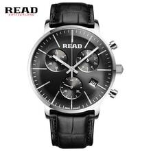 READ WATCH Multi-functional sports men's watch fashion belt watch quartz watch R7080