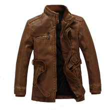 himantic New Male Winter Leather Jacket Fashion Warm Motorcycle Jacket Quality Brand jaqueta de couro masculino Large Size XXL
