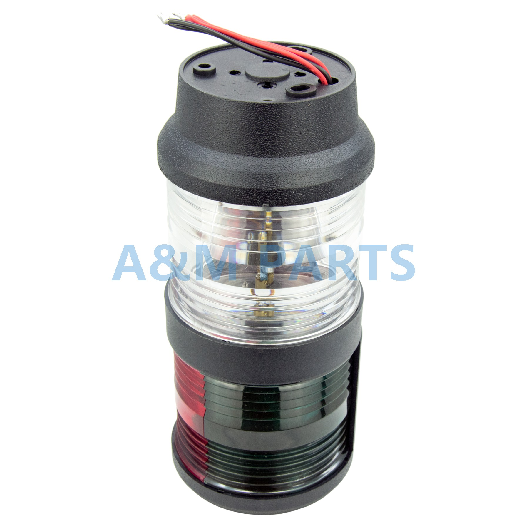 LED Bi Color & All Round Anchor Light - Boat Marine Navigation Masthead Light For Sailboat