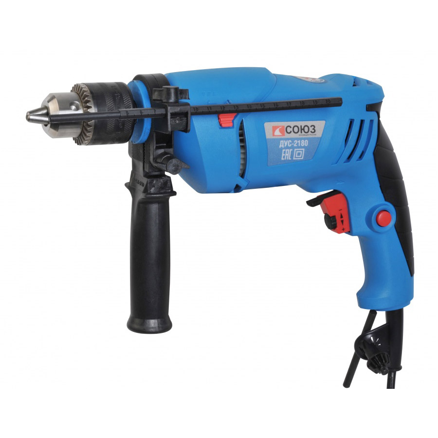 Hammer drill SOYUZ DUS-2180 electric drill soyuz dus 2150
