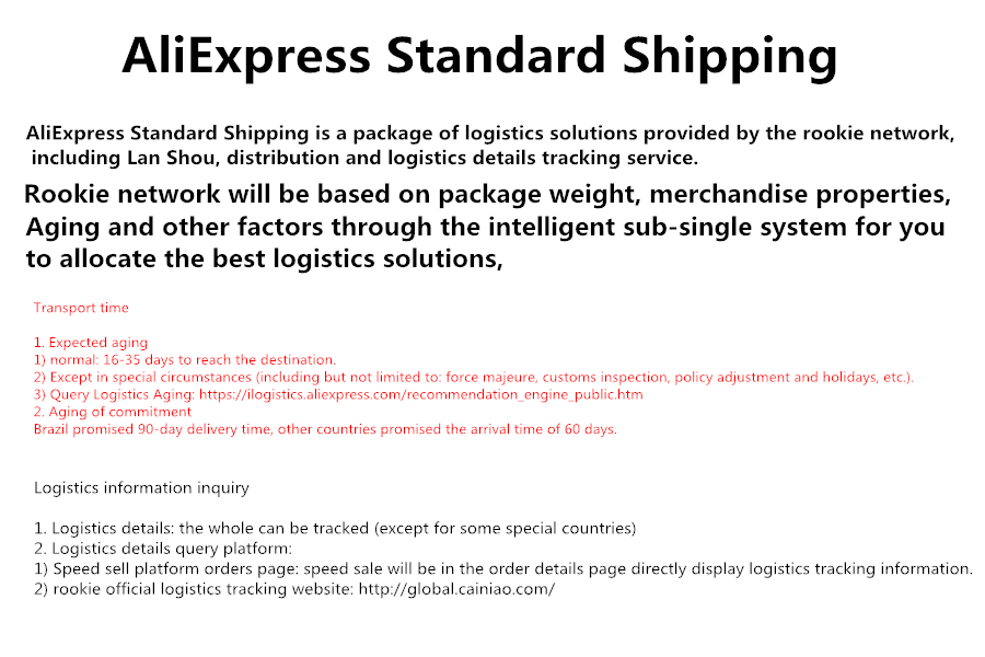 AliExpress Standard Shipping-B