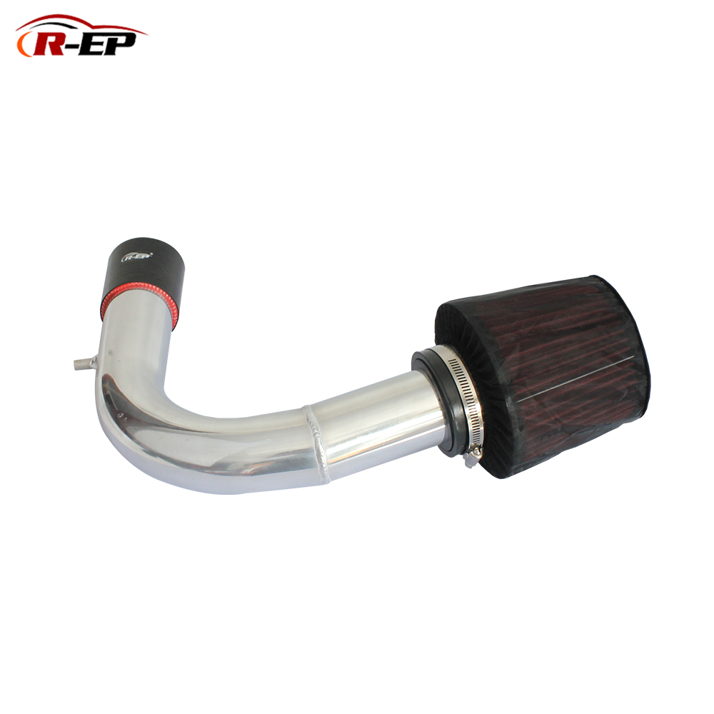 R-EP Cold Air Intake Kit With Air Filter Fits For V W VOLKSWAGEN Golf 7 Passat Skoda Audi A3 High Flow Replacement Aluminum Pipe