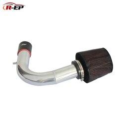 R-EP Dingin Udara Asupan Kit dengan Air Filter Cocok untuk V W Volkswagen Golf 7 Passat Skoda Audi A3 Tinggi kas Penggantian Pipa Aluminium