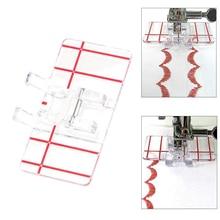 Пластиковые Параллельные Швейные Машины Прижимной Лапки для Домашнего Принадлежности Darning