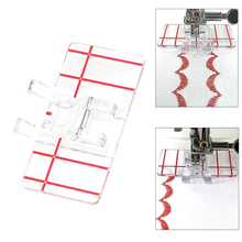Parallel Sewing Machine Presser Foot Plastic for Household Darning Accessories KM88