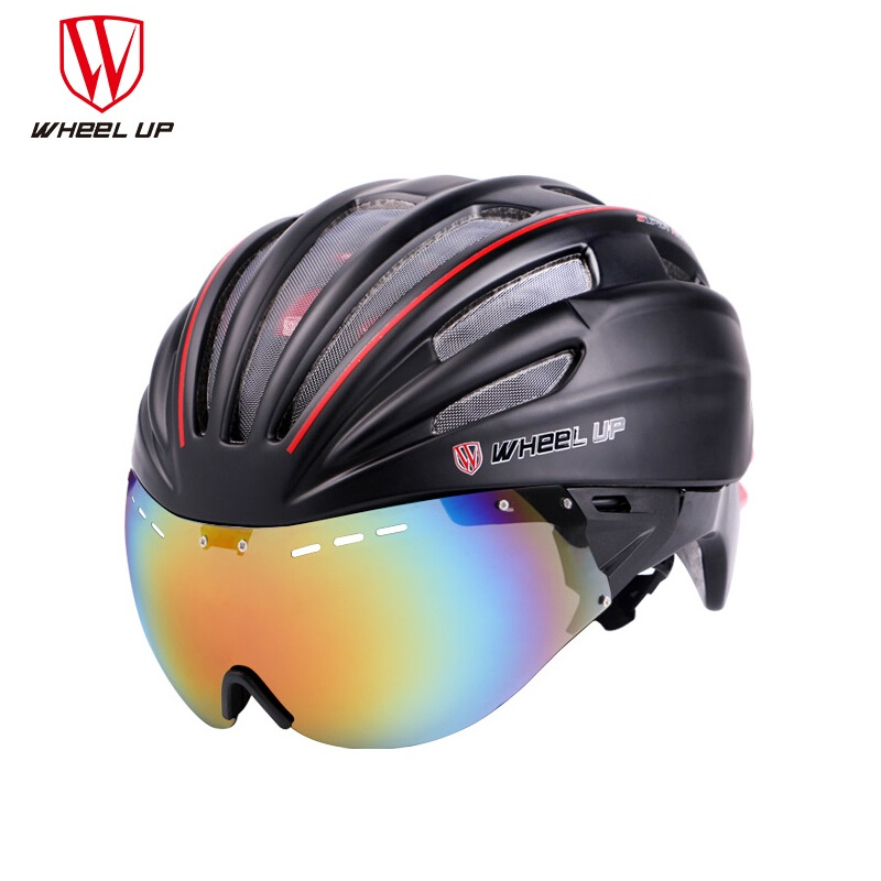 WHEEL UP New Integrally Aerodynamic EPS Lens Cycling Helmet Ultra-Light Mountain Bike Helmet MTB Bicycle Helmet Bike Accessories wheel up integrally aerodynamic eps lens cycling helmet ultra light mountain bike helmet mtb bicycle helmet byclcle accessories