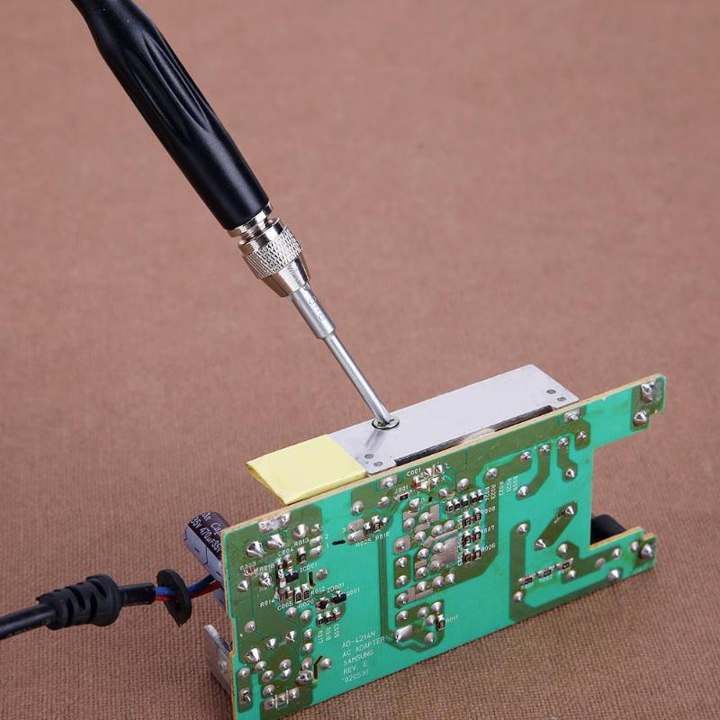 11pcs Multifunction Screwdriver Set Cross Slotted Plum Bits Set Multi Tools Electronic Repair Hand Tools Kit