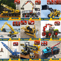 Technic Car Building Blocks 20004 20005 20068 20056 20059 20020 20017 20019 20013 20019 20059 Motorized Bricks LegoINGlys Toys