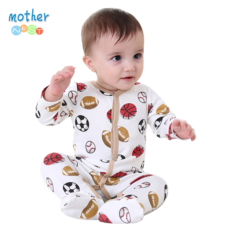 924f63408 2017 New arrival baby boy and baby girl rompers Monther Nest 100 ...