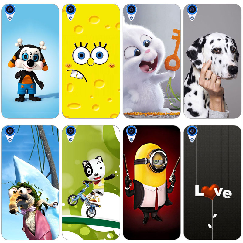 Case For HTC Desire 820 Soft Silicone TPU Cool Design Pattern Printed Cover For HTC Desire 820 Phone Case