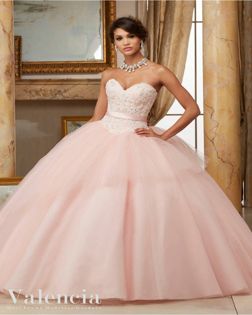 2e3e8abc0d7 Big Bow with Nice Appliques and Beading Pink Red Quinceanera Dress  Sweetheart Tulle Ball Gown Girls Sweet 16 Dresses