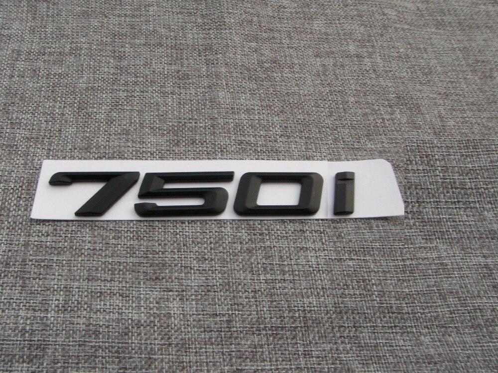 matte black abs number letters word car trunk badge emblem With black car emblems letters