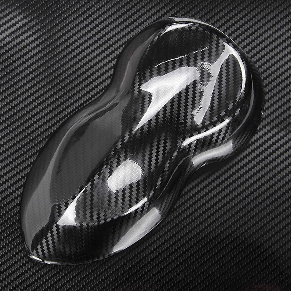 Película de vinilo negro 5D de fibra de carbono, película de envoltura de coche, adhesivo de fibra de carbono para coche, accesorio, película de coche para bmw e46 ford focus volkswagen