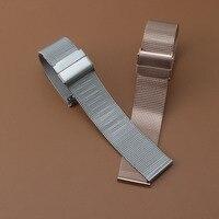 14mm 16mm 18mm 20mm Milanese Shark Mesh Metal Watchband Bracelet New 2017 For DW Watch Strap