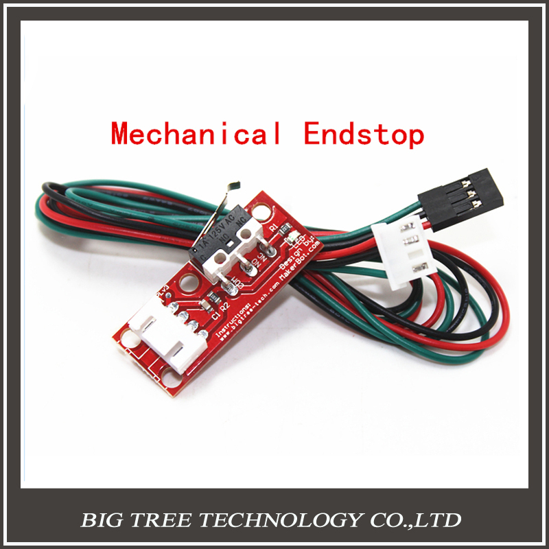 1PCS High Quality Mechanical Endstop  For Reprap ramps 1.4 3D printer With independent packing diy kit