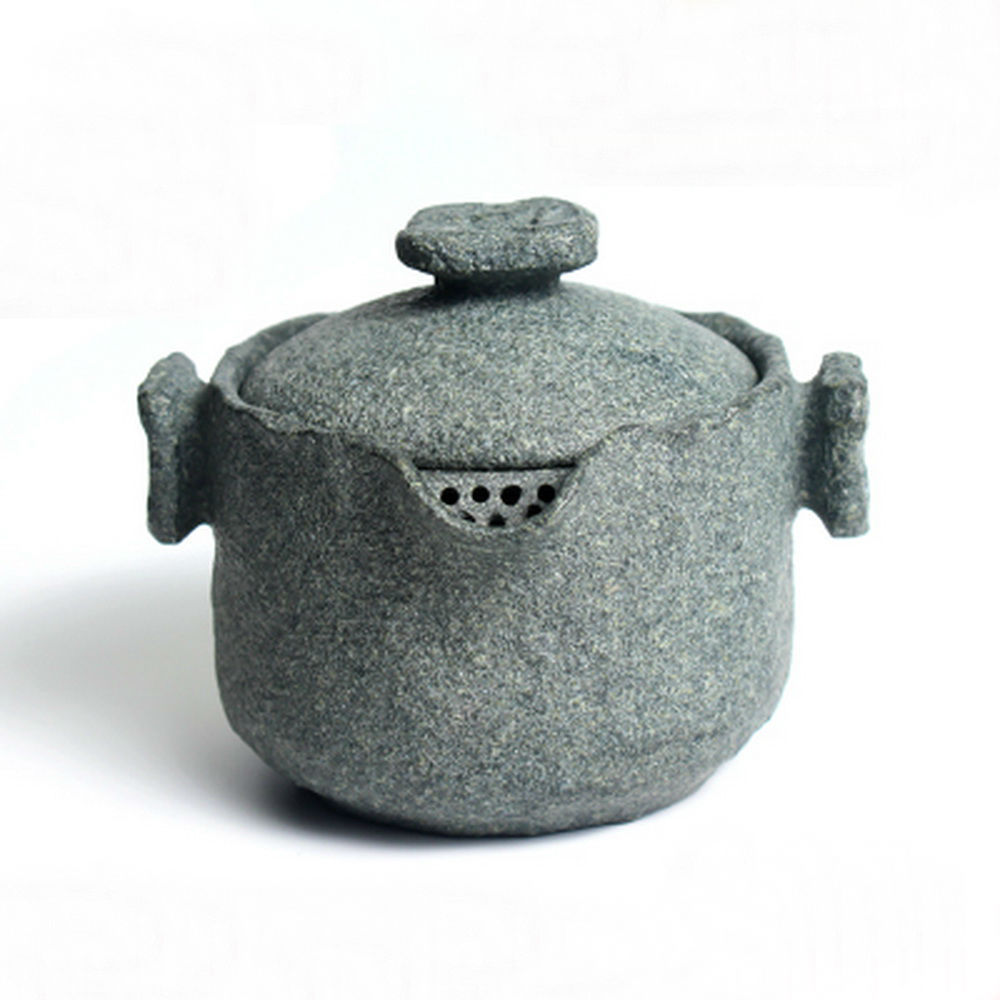 Чай Gongfu из гранодиорита ручной работы, гайвань с фильтром заварочный чайник 150 мл - 6