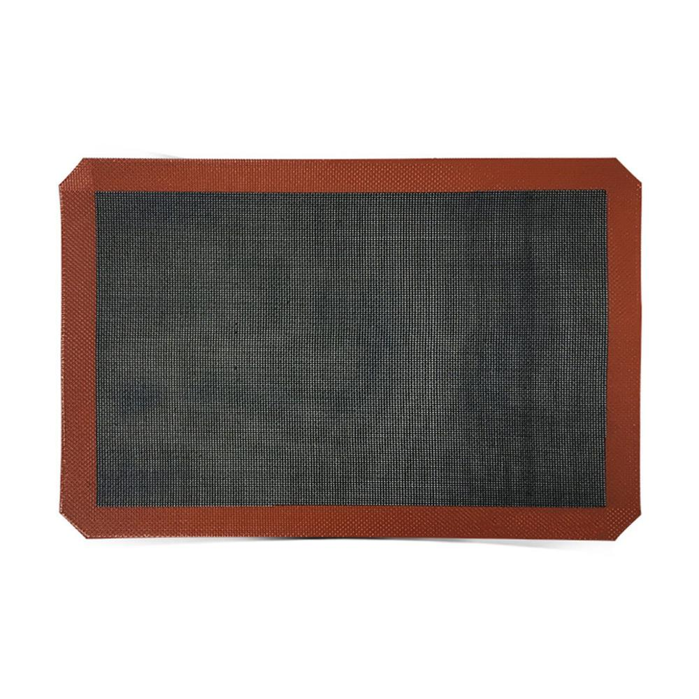 400*300*0.7mm or 15.75*11.81 inch Non-Stick Silicone Baking Liner for Bread Similar Silpain Bread Baking Mat Baking bread sheet