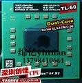 Оригинальный процессор AMD ноутбука Turion TL-60 CPU 1 М Кэш/2.0 ГГц/Socket S1/Dual-Core ноутбук процессора tl60 TL 60