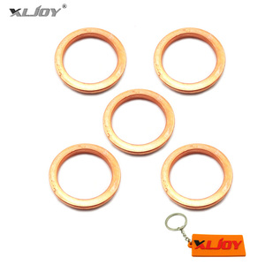 5pcs ID=25mm OD=32mm Exhaust Pipe Gasket For 50cc 90cc 110cc 125cc 140cc Pit Dirt Motor Bike Motocycle ATV Quad 4 Wheeler(China)