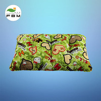 Special pillow for car pneumatic bed travel pneumatic pillow thickening flocking printing creative new style