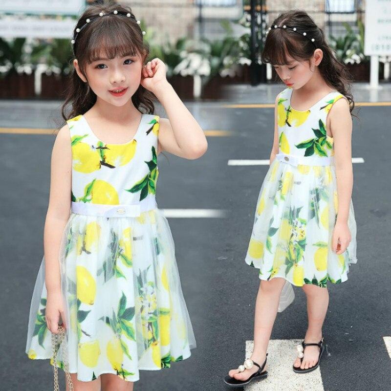 Girls Dress Summer 2018 Cotton Lace Kids Dress For Girls T-Shirts+Tutu Dress Mango Child Clothes Fashion Princess Kids Outfits сарафан джинсовый mango kids mango kids ma018egylc03