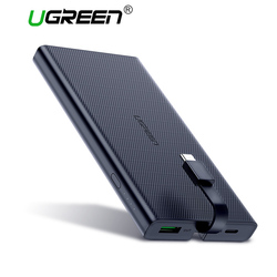 Ugreen Power Bank 10000mAh Portable Type C Fast Charging Powerbank for iPhone X 8 External Battery Charger for Phone Pover Bank